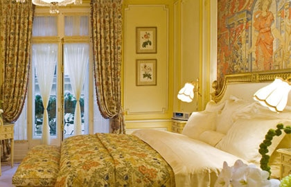 A room at the Ritz Paris in France