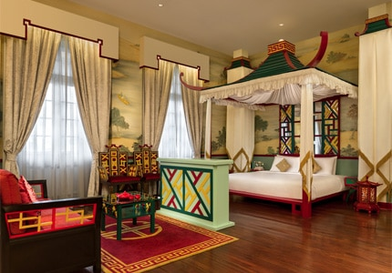 Guest room at Hullet House, one of GAYOT's Top 10 Romantic Hotels Worldwide