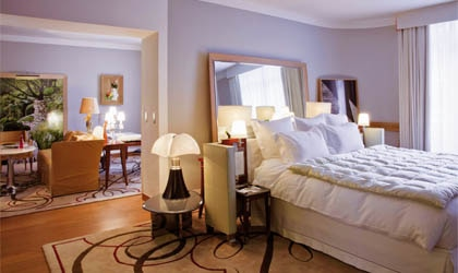 A room at one of our Top 10 Romantic Hotels, Le Royal Monceau - Raffles Paris in France