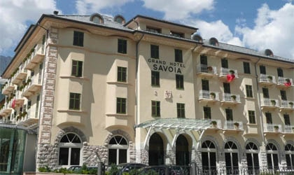 Grand Hotel Savoia in Cortina d'Ampezzo, Italy is one of GAYOT's Top Ski Resorts Worldwide