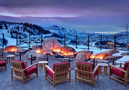 The St. Regis Deer Valley in Utah, one of GAYOT's Top 10 Ski Resorts in the World