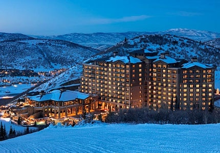 The St. Regis Deer Valley offers prime access to some of Utah's best skiing