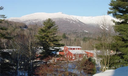The exterior of Topnotch Resort & Spa in Stowe, Vermont