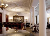 The bar at Kempinski Grand Hotel des Bains