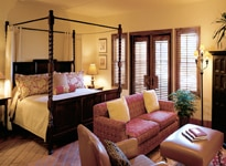 A suite at The Fairmont Sonoma Mission Inn & Spa