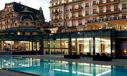 The Cinq Mondes Spa at Beau-Rivage Palace in Geneva