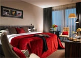 A guest room at Seafield Golf & Spa Hotel in Ireland