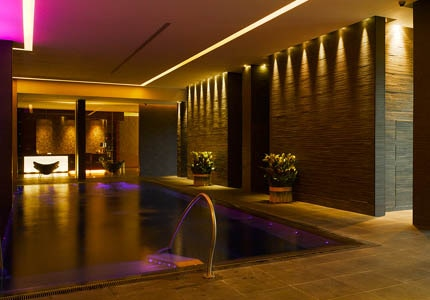 The spa at Seafield Golf & Spa Hotel in Ireland