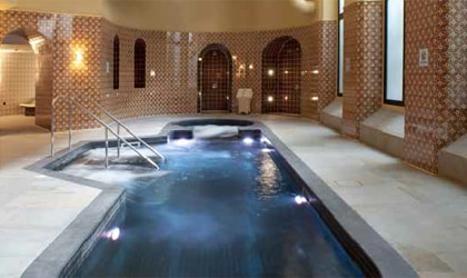 The pool at St. Pancras Spa in London