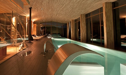 The Uma Spa at Tierra Patagonia Resort & Spa in Chile
