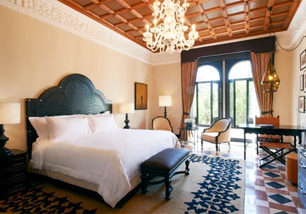 A room at Hotel Alfonso XIII in Sevilla