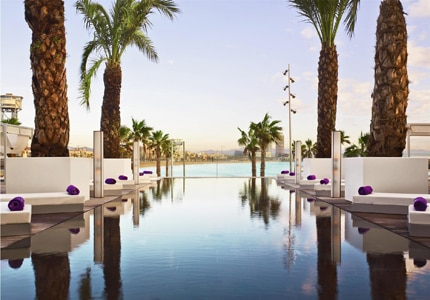 Book a room at the W Barcelona or one of many other great Spanish hotels