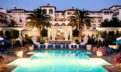 Tuscan-style sanctuary of The St. Regis Resort, Monarch Beach in California behind the Orange curtain