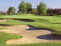 The challenging 4th hole of the Stonehouse course at Temecula Creek Inn in California