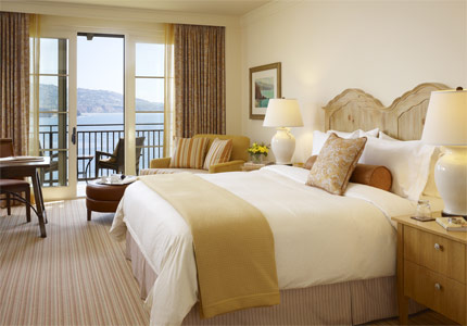 One of Terranea Resort's spacious guest rooms