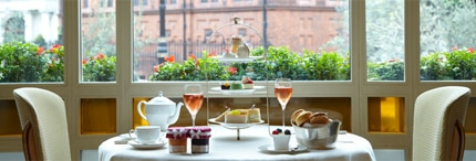 Afternoon tea at The Connaught in London