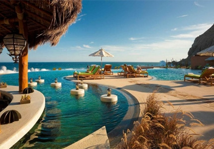 The Resort at Pedregal is a quiet retreat with breathtaking ocean views and is one of GAYOT's Top 10 Romantic Hotels in Los Cabos, Mexico