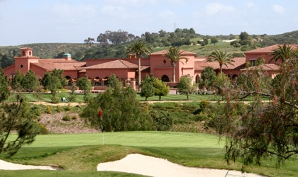 The Grand Del Mar in San Diego lives up to its name, located just east of the Pacific coastline in lush surroundings.