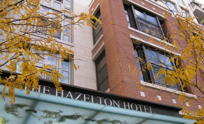 The hip and chic Hazelton Hotel in Toronto