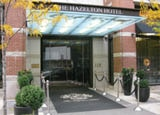 Entrance of The Hazelton Hotel in Toronto