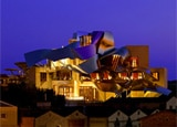 Frank Gehry's unique Marqes de Riscal hotel