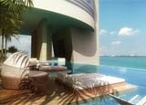 Endless ocean views and relaxing poolside lounging at the Trump Ocean Club International Hotel & Tower Panama
