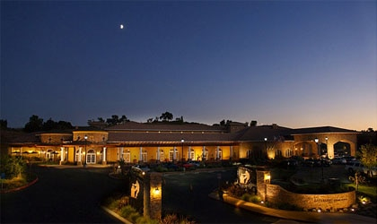 The exterior of The Meritage Resort and Spa in Napa