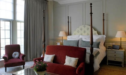 A room at Dean Street Townhouse in London