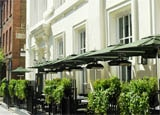 The exterior of Dean Street Townhouse in London, one of GAYOT's Top Value Hotels Worldwide