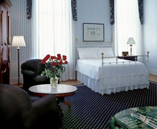 Bedroom suite at The Tremont House in Texas