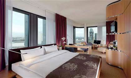 A room at Swissotel Berlin in Germany