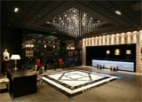 The lobby at Hotel Monterey Kyoto in Japan, one of our Top 10 Value Hotels Worldwide