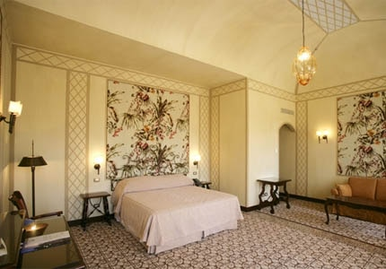 A guest room at Bauer Palladio Hotel & Spa in Venice, Italy