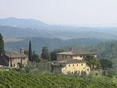 Villa Dievole in Tuscany, Italy