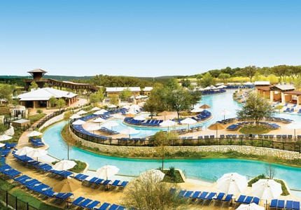 Six acres of heated pools await at JW Marriott San Antonio Hill Country Resort & Spa in Texas