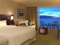 The Beach Tower room at The Westin Maui Resort & Spa in Hawaii