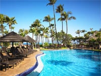 The adult pool at The Westin Maui Resort & Spa in Hawaii