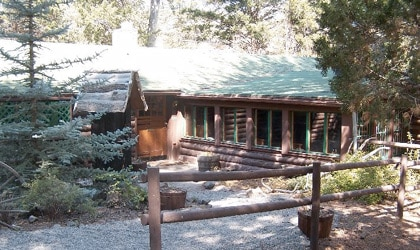 Guest cabins at the UXU Ranch in Wapiti, Wyoming date as far back as the 1890s