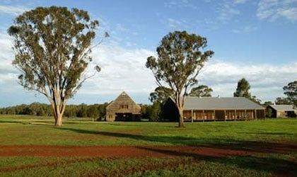 Burrawang West Station in New South Wales, Australia offers guests a one-of-a-kind outback experience