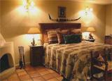 A guest room at Cibolo Creek Ranch in Texas