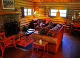 A room at CM Ranch in Wyoming