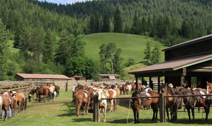 Red Horse Mountain Ranch on Lake Coeur d'Alene in Harrison, Idaho