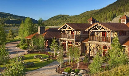 The Ranch at Rock Creek in Darby, Montana offers luxurious accommodations in a remote setting