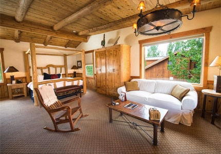 Sorrel River Ranch Resort & Spa lodgings offer a rustic yet elegant ambience