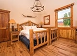 A guest room at Sorrel River Ranch Resort & Spa in Moab, Utah