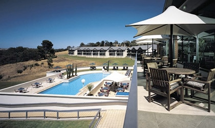 Novotel Barossa Valley Resort  in Novotel Barossa Valley Resort in Australia boasts a pool, golf course and a spa