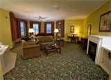 The Turret Suite at Belhurst Castle in Geneva, New York