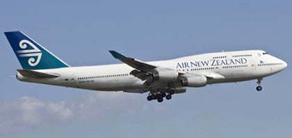 Air New Zealand's Boeing 747 Aircraft