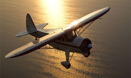Presley Melton and Jim Marlar's beautifully restored Howard DGA-15 from the 2010 Sun 'n Fun event