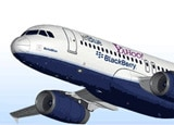"The JetBlue ""BetaBlue"" Airbus A320"
